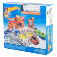 Хот Вилс Игровой набор Дорожная пиццерия DJD73/BGH94