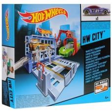Хот Вилс Игровой набор Гараж-подъемник BGH98/BGH94