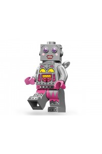 Лего Минифигурка Леди робот, 71002