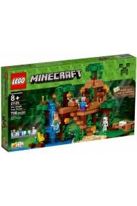 Лего Майнкрафт Домик на дереве в джунглях 21125