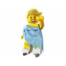 Лего Минифигурка Фигуристка, 8804