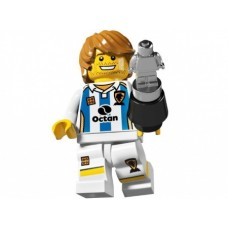 Лего Минифигурка Футболист, 8804