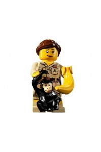 Лего Минифигурка Служитель зоопарка, 8805