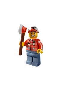 Лего Минифигурка Дровосек, 8805
