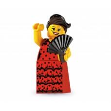 Лего Минифигурка Танцовщица фламенко, 8827