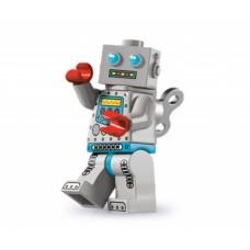 Лего Минифигурка Робот с часовым механизмом, 8827