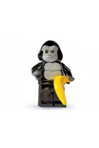 Лего Минифигурка Парень в костюме гориллы, 8803