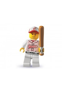 Лего Минифигурка Бейсболист, 8803