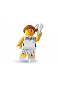 Лего Минифигурка Теннисистка, 8803