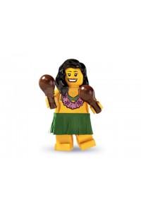 Лего Минифигурка Гавайская танцовщица, 8803