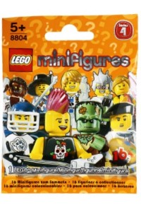 Lego 8804 Минифигурки Серия 4