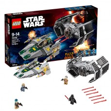 Лего Звездные войны Усовершенствованный истребитель СИД Дарта Вейдера, 75150