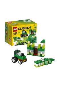 Лего Классик Зелёный набор для творчества, 10708