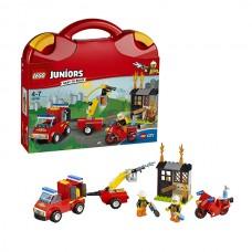 Лего Джуниорс Чемоданчик Пожарная команда, 10740