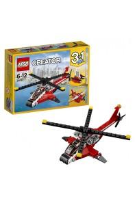 Лего Креатор Красный вертолёт, 31057
