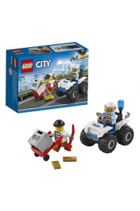 Лего Город Полицейский квадроцикл, 60135