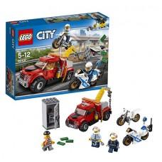 Лего Город Побег на буксировщике 60137