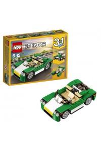 Лего Креатор Зелёный кабриолет, 31056