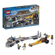 Лего Город Грузовик для перевозки драгстера, 60151