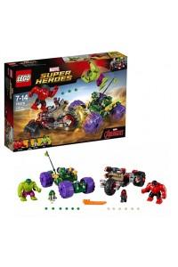 Лего Супер Герои Халк против Красного Халка, 76078