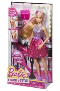 Кукла Barbie Цветные пряди Mattel CFN47