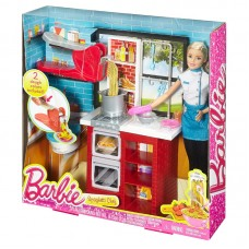 Набор Barbie Шеф итальянской кухни с куклой Барби DMC36