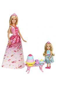 Набор кукол Barbie Чаепитие в Сладкограде FDJ19
