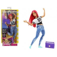 Кукла Barbie Безграничные движения Барби танцовщица FJB19