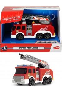 Пожарный автомобиль Dickie Toys 3302002 cо звуком и светом