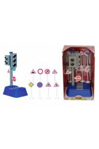 Набор Dickie Toys Светофор и дорожные знаки 3313051