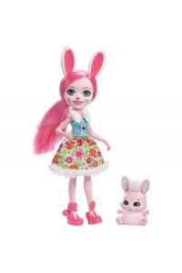 Кукла Enchantimals Бри Кроля с любимой зверюшкой DVH88