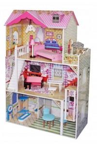 Деревянный кукольный домик Lila Wooden Toys