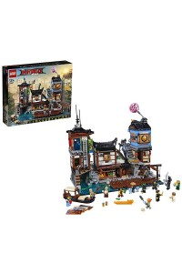 Lego Ninjago Movie 70657 Порт Ниндзяго Сити