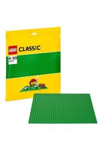 Лего Классик Строительная пластина зеленого цвета 10700