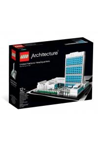 Лего Архитектура Штаб-квартира ООН, 21018
