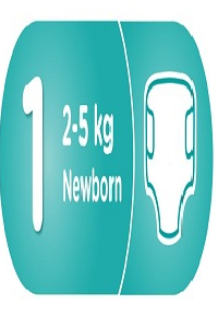 Подгузник Размер 1 Newborn (2-5кг)