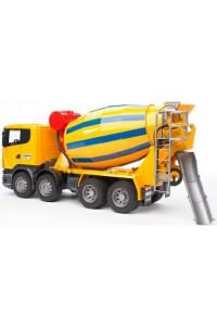 Бетономешалка Брудер Scania Bruder 03554