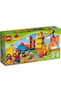 Лего Дупло Большая стройплощадка, 10813