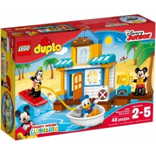 Лего Дупло Домик на пляже, 10827