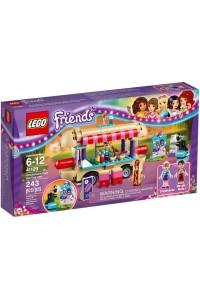 Лего Подружки Парк развлечений: фургон с хот-догами, 41129