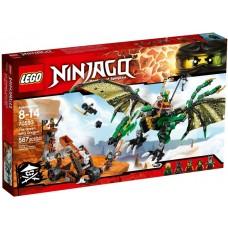 Лего Ниндзяго Зелёный Дракон, 70593