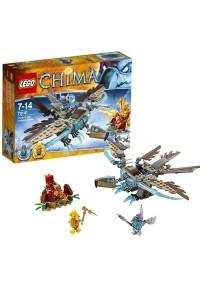 Лего Легенды Чимы  Хищный ледяной планер Варди,70141