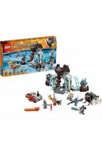 Лего Легенды Чимы Ледяная крепость мамонтов 70226