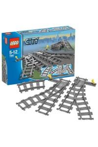 Лего Город Железодорожные стрелки, 7895
