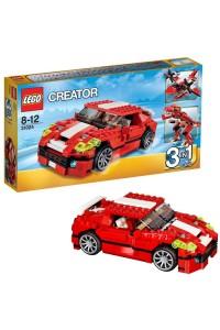 Лего Креатор Красный мощный автомобиль, 31024