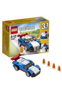 Лего Креатор Синий гоночный автомобиль, 31027