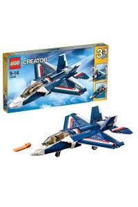 Лего Креатор Синий реактивный самолет, 31039