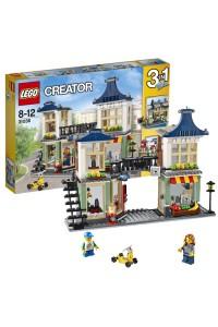 Лего Креатор Магазин по продаже игрушек и продуктов, 31036