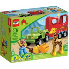 Lego Duplo 10550 Лего Дупло Цирковой автофургон