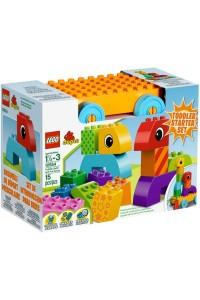 Лего Дупло Веселая каталка с кубиками, 10554